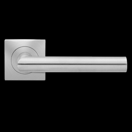 Karcher Design Rhodos ER28Q Door Lever Handle on a Square Rose